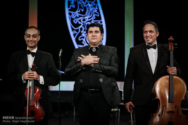 Salar Aghili performs at Fajr Intl. Music Fest.