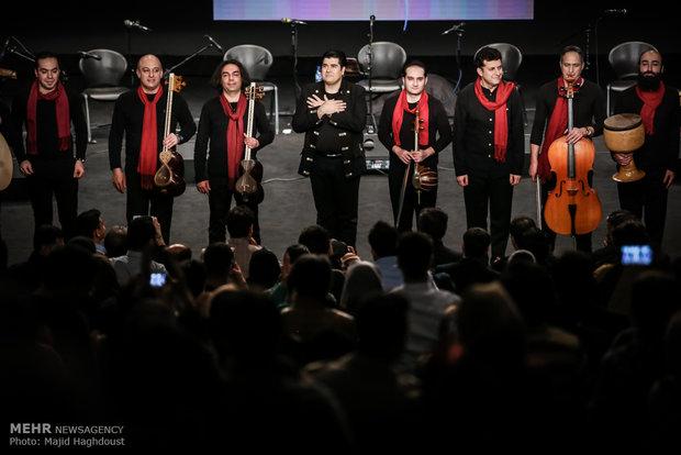Salar Aghili performs at Fajr Intl. Music Fest.
