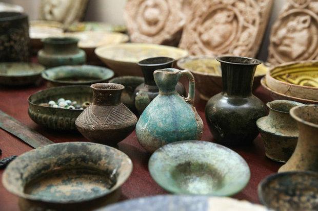 اشیای دورههای اشکانی و ساسانی در ساری کشف شد