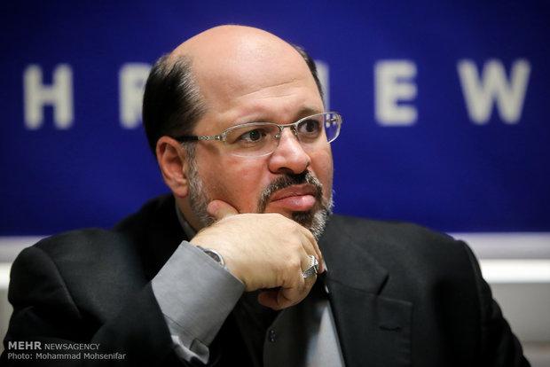 ممثل حركة حماس في طهران خالد القدومي