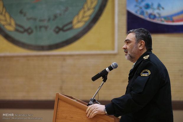 قوات الشرطة الايرانية تقييم مسابقات الزورخانة