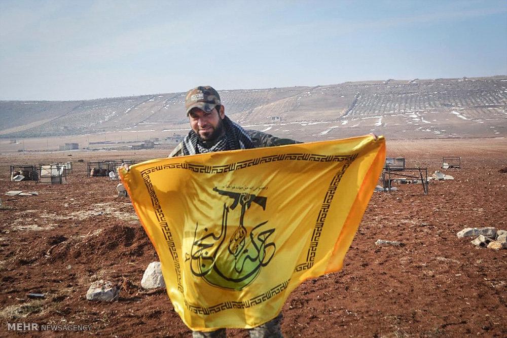 رزمندگان نُجَباء پس از آزاد سازی حلب