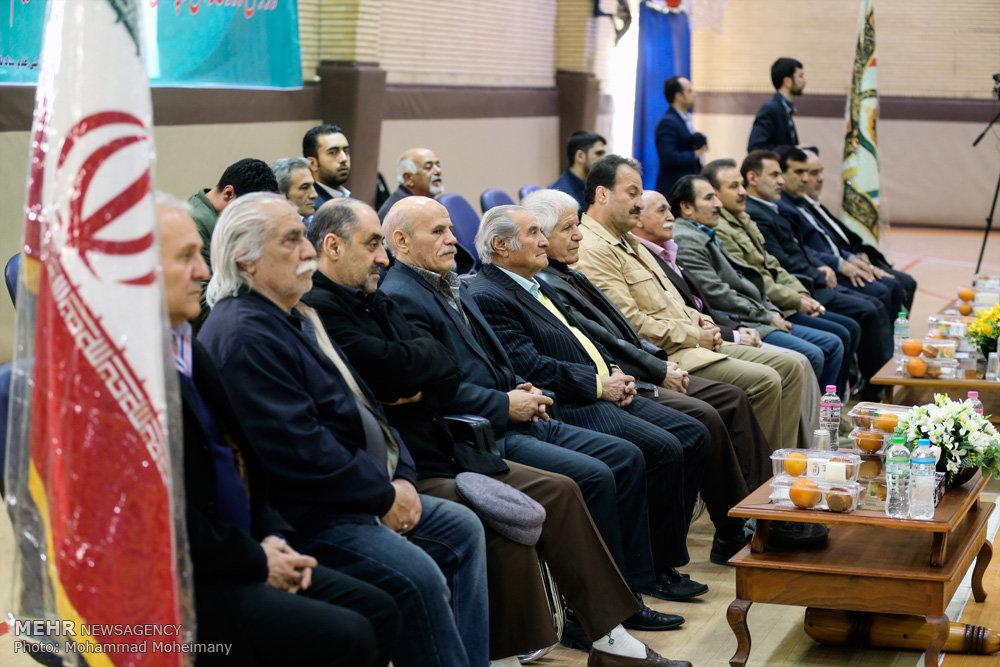 افتتاح مسابقات زورخانهای ناجا
