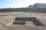 یک محوطه تاریخی برای ساخت استخر تسطیح شد