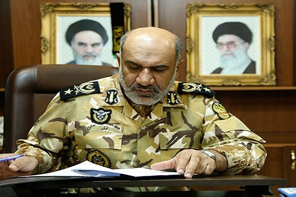 منح رتبة اللواء لنائب القائد العام للقوة البرية في الجيش الايراني