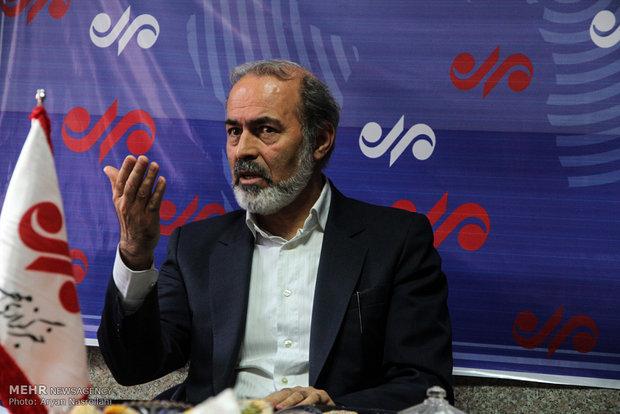 بازدید سید احسن علوی نماینده مردم سنندج،دیواندره وکامیاران v از دفتر خبرگزاری مهر در کردستان