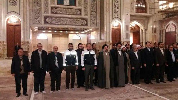 اعضای ستاد دهه فجر با آرمان های امام راحل تجدید میثاق کردند