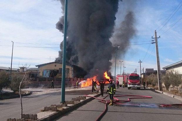 آتش سوزی منزل سبب مرگ صاحبخانه در کلاردشت شد