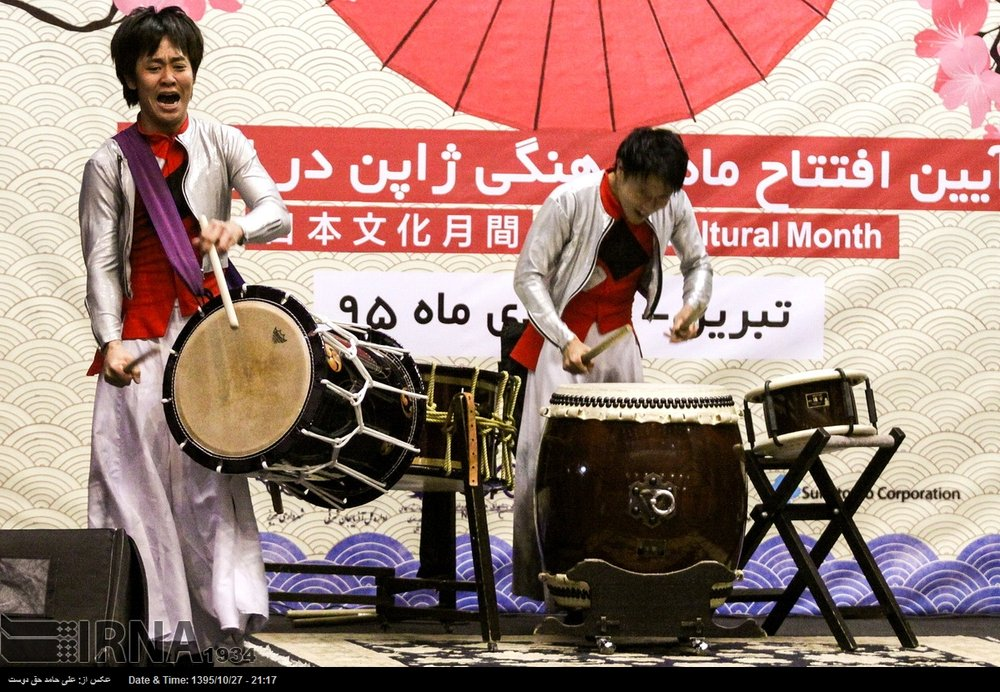 Performance by Sai opens Japan cultural festival in Tabriz