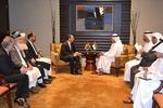 وزرای خارجه افغانستان و امارات با یکدیگر دیدار کردند