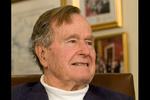«جرج بوش» در بیمارستان بستری شد