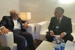 ظریف با وزیر خارجه سوئیس دیدار و رایزنی کرد
