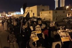 فیلم/تظاهرات مردم بحرین علیه آلخلیفه