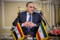 Syrian delegation headed by PM Khamis arrives in Tehran
