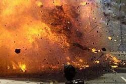 انفجار بمب