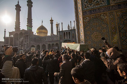 Funeral ceremony of holy shrine defenders in Qom