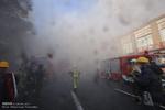 مهار شعله های آتش در رستوران برج بیژن/حادثه خسارت جانی نداشت