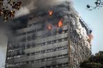 ساختمان پلاسکو گاز شهری ندارد/عامل آتشسوزی، گاز نیست