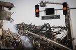 برق تا شعاع ۵۰۰ متری ساختمان پلاسکو قطع شد