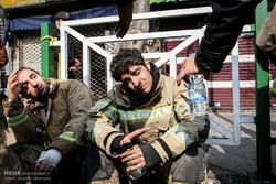طوارئ طهران: 70 جريحا جراء انهيار مبنى بلاسكو