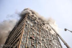 ساختمان پلاسکو فروریخت .....