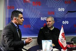 بازدید سردار مسعود خرم نیا فرمانده انتظامی کردستان از دفتر مهر کردستان