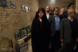 سفر زهرا احمدی پور معاون رئیس جمهوری و رئیس سازمان میراث فرهنگی به اراک