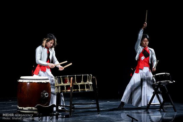 VIDEO: Sai 'wadaiko' band performs in Iran