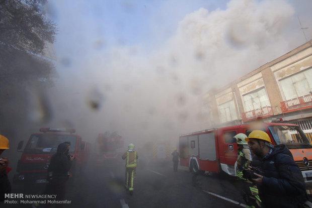 آتش سوزی در ساختمان پلاسکو