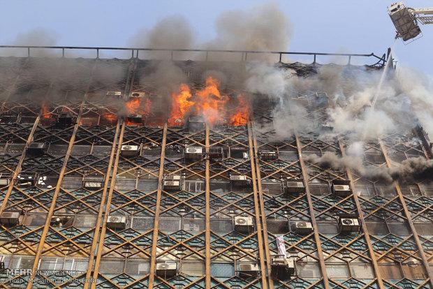 واکنش رئیس اتاق اصناف به آتشسوزی ساختمان پلاسکو
