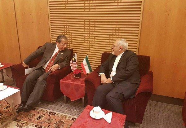 ایران اور ملائشیا کے وزراء خارجہ کی ملاقات