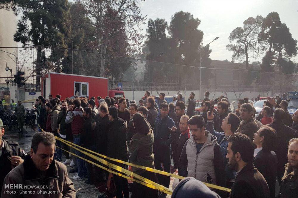 آتش سوری در ساختمان پلاسکو