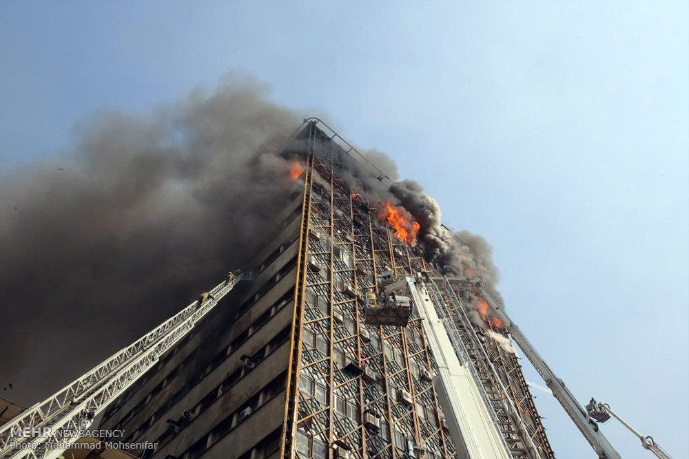 ساختمان پلاسکو فروریخت - 1