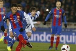 برد ارزشمند بارسلونا مقابل سوسیه داد/اخطارهای عجیب به مسی و نیمار