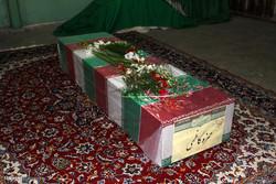 مراسم وداع با پیکر شهید مدافع حرم حمزه کاظمی