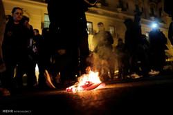تجدد الاحتجاجات وأعمال شغب بعد تنصيب ترامب رئيسا