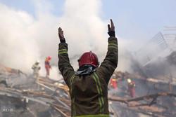 تسجيل عن قرب لانهيار مبنى بلاسكو التجاري /فيديو