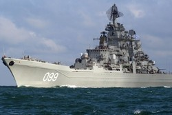Russia sends warship to Atlantic Ocean