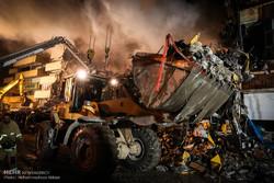 عملیات امداد و نجات ساختمان پلاسکو -