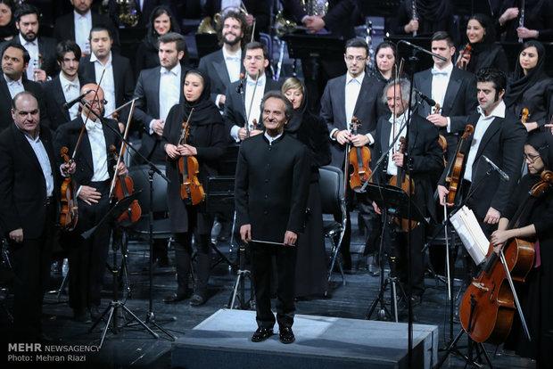 VIDEO: Iran-Italy symphony orchestra at Vahdat Hall