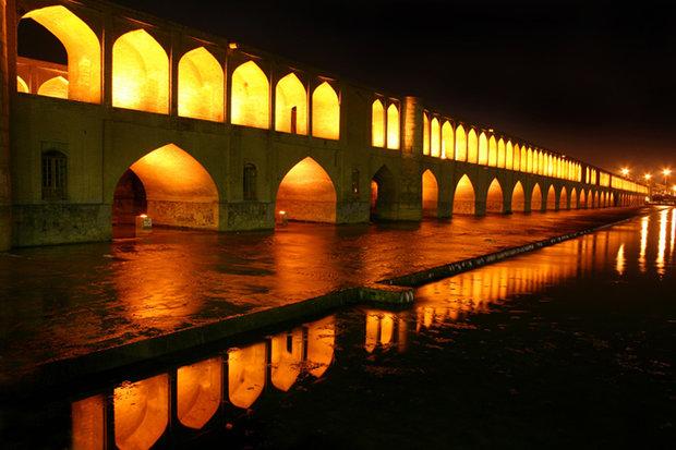 زایندهرود در اصفهان جاری شد