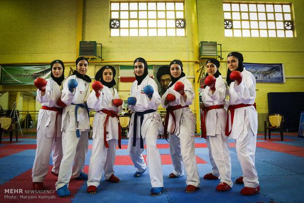 لیگ کاراته بانوان,دختران کاراته باز,دختران رزمی کار ایران,دختران تکواندو کار,دختر خوشگل رزمی کار
