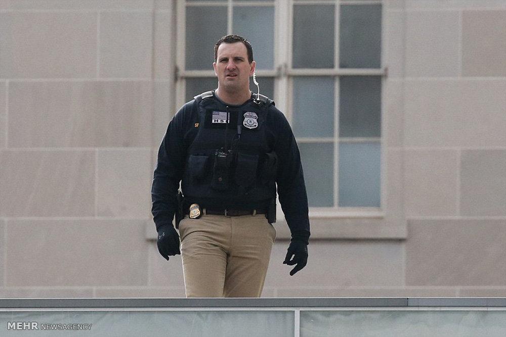 تدابیر شدید امنیتی در آستانه مراسم تحلیف ترامپ