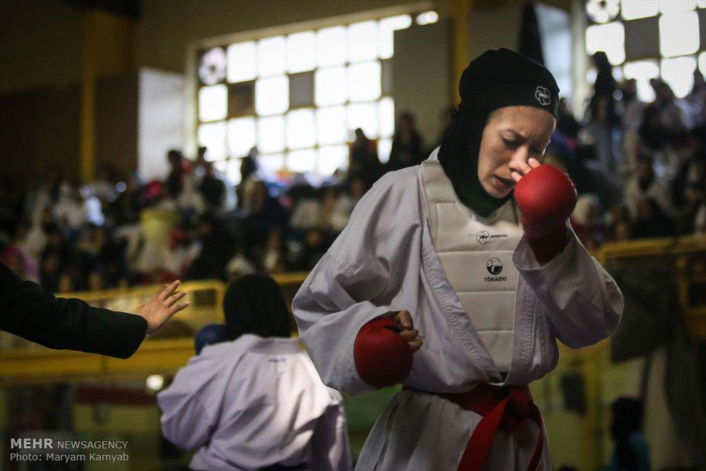 هفته دوم سوپر لیگ کاراته بانوان
