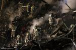 اجرای یکصد عملیات آتش نشانی در طول دو روز گذشته