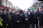 Ruhani Plasco enkaz yerini ziyaret etti