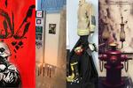 افتتاحیه نمایشگاه ها به احترام آتش نشانان فداکار شمع باران شد