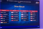 Iran learn AFC Women's Asian Cup 2018 qualifying opponents