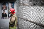 گرامیداشت شهدای آتش نشان پیش از بازی استقلال - صنعت نفت