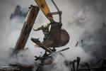مشارکت تیم ویژه مهار فوران چاههای نفت در آواربرداری پلاسکو